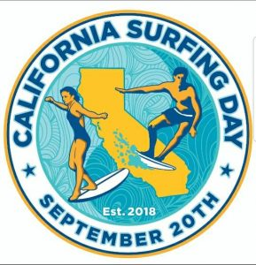 "Official ""California Surfing Day"""